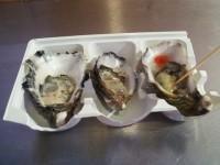 サウスメルボルンマーケットの生牡蠣