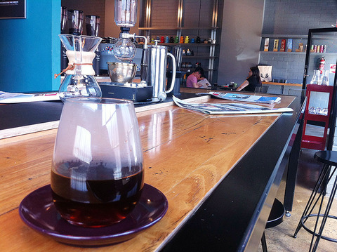 メルボルンのカフェ「First pour」