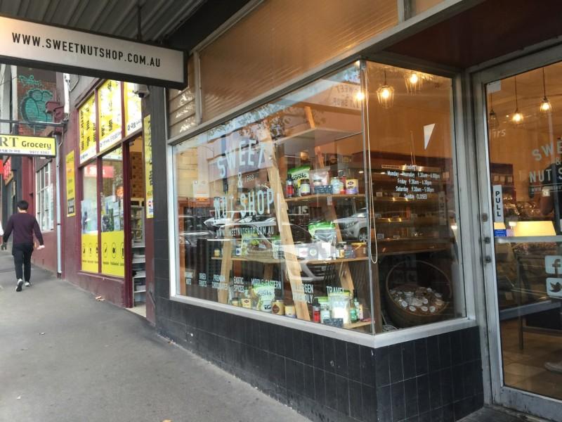 メルボルンのピーナッツ専門店「SWEETNUTSHOP」