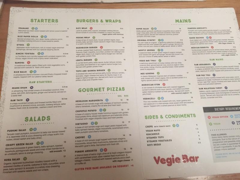 メルボルンのカフェ「VegieBar」