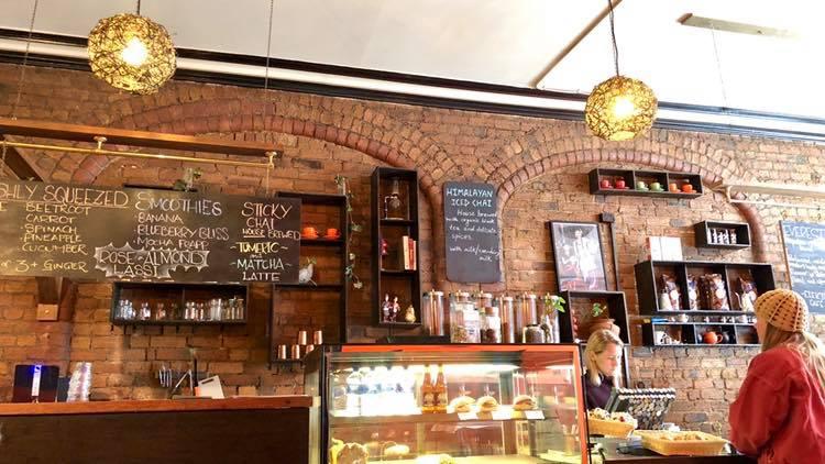 フィッツロイのカジュアルカフェで朝食を「Elektra Cafe」
