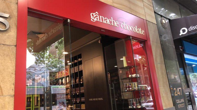 女子カフェに最適チョコレートショップ「Ganache Chocolate」