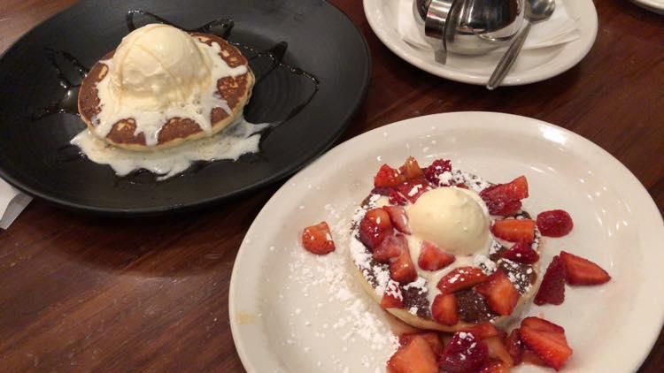 メルボルンのパンケーキチェーン店「The Pancake Parlour」