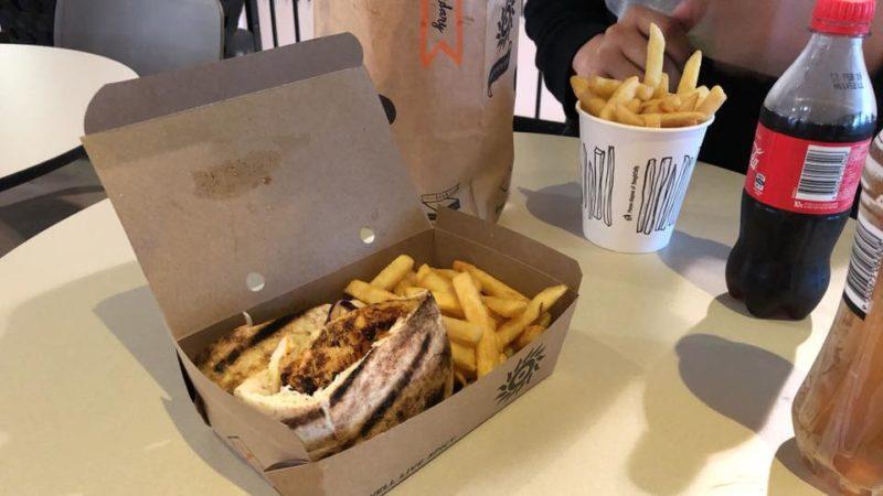 オーストラリア発のピリ辛チキンバーガーチェーン店「Oporto」