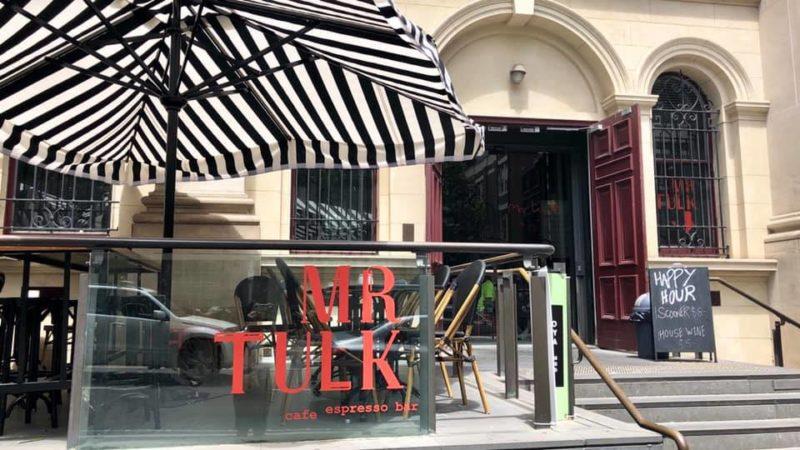 State Libraryに行ったら、カフェはここで「Mr Tulk」