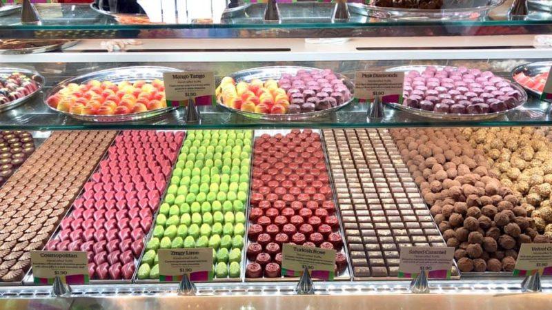 Yarra Glen でチョコレート・デート