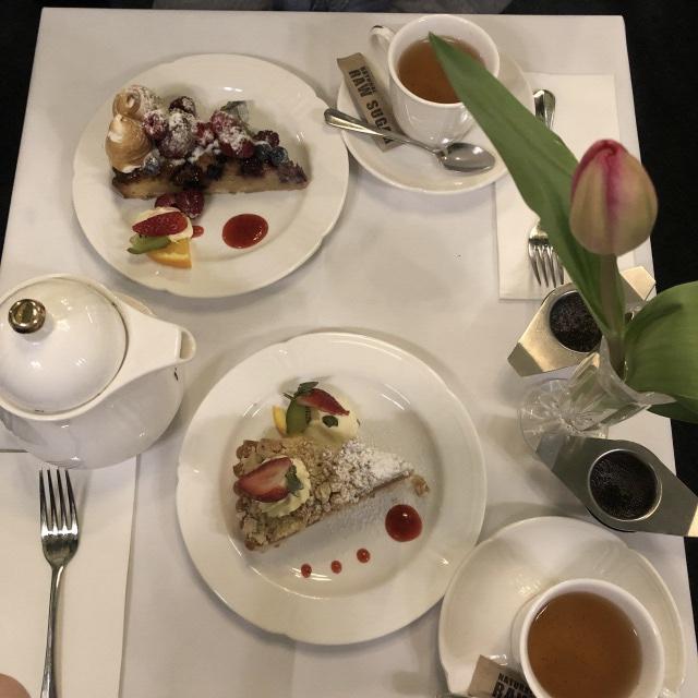 """メルボルンのケーキ屋""""HOPETOUN TEA ROOM"""""""