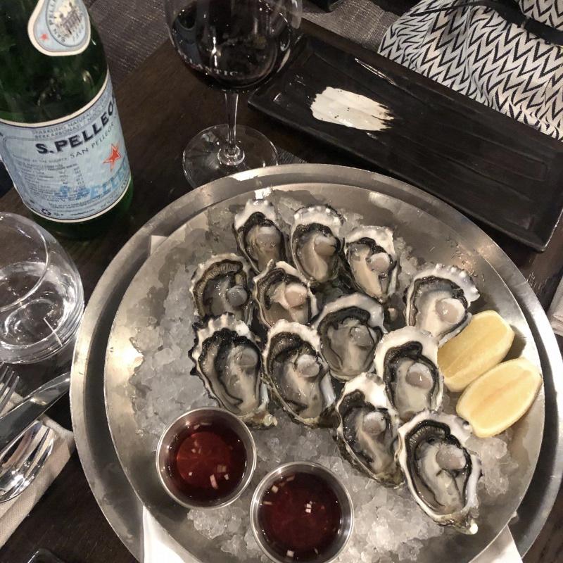 """メルボルンのシーフード""""Oyster Bar&Grill"""